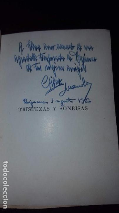 Libros de segunda mano: Tristezas y sonrisas - Gustavo Droz - Barcelona -1943 - Foto 4 - 151661178