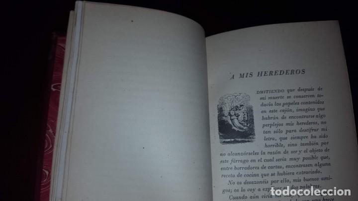 Libros de segunda mano: Tristezas y sonrisas - Gustavo Droz - Barcelona -1943 - Foto 6 - 151661178