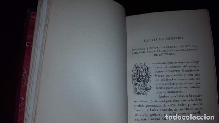 Libros de segunda mano: Tristezas y sonrisas - Gustavo Droz - Barcelona -1943 - Foto 7 - 151661178