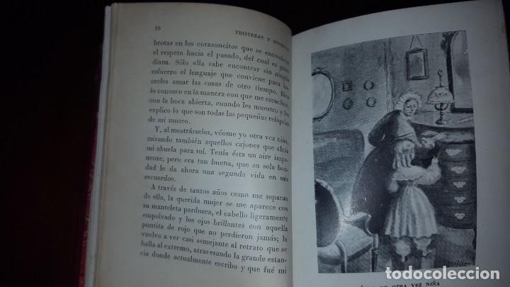 Libros de segunda mano: Tristezas y sonrisas - Gustavo Droz - Barcelona -1943 - Foto 10 - 151661178