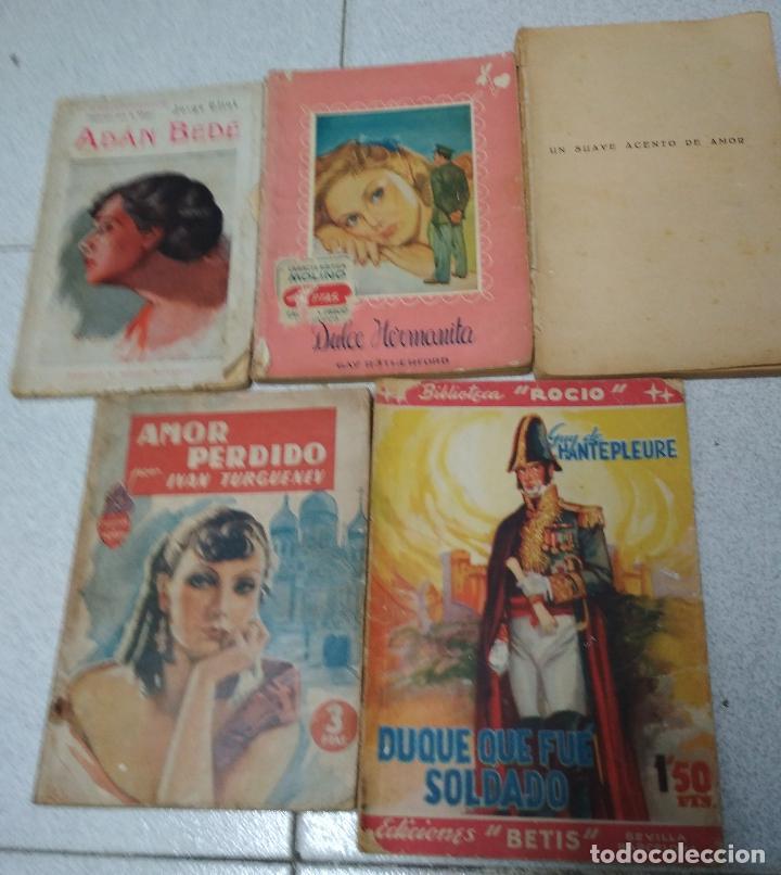 LOTE 5 NOVELAS ROMANTICAS. (Libros de Segunda Mano (posteriores a 1936) - Literatura - Narrativa - Novela Romántica)