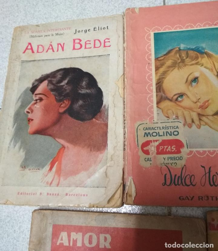 Libros de segunda mano: LOTE 5 NOVELAS ROMANTICAS. - Foto 2 - 153788262