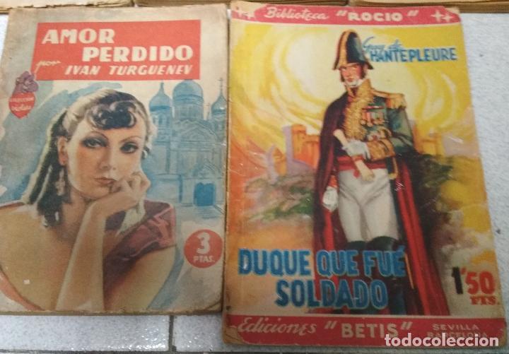 Libros de segunda mano: LOTE 5 NOVELAS ROMANTICAS. - Foto 3 - 153788262