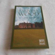 Libros de segunda mano: LA CASA MALDITA BARBARA WOOD. Lote 154851198