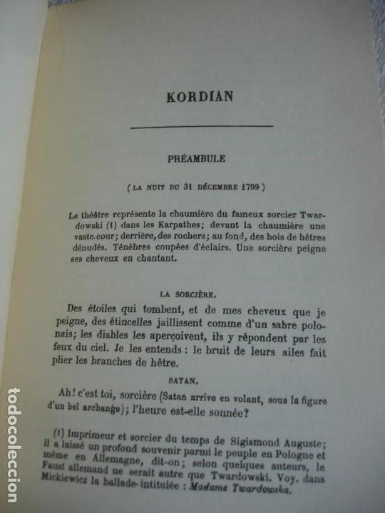 Libros de segunda mano: Jules Slowacki. Kordian - Foto 4 - 155539186