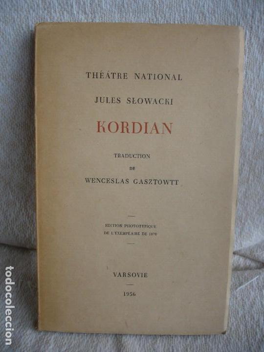 JULES SLOWACKI. KORDIAN (Libros de Segunda Mano (posteriores a 1936) - Literatura - Narrativa - Novela Romántica)