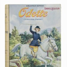 Libros de segunda mano: ODETTE INVENCIBLE CHARME - DANIEL LESUEUR . Lote 155623130