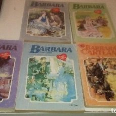 Libros de segunda mano: G-PERICO42 LOTE DE 5 NOVELAS DE BARBARA CARTLAND VER FOTOS PARA TITULOS . Lote 155700710