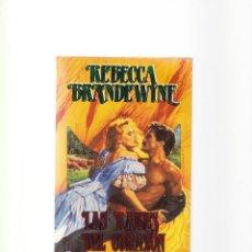 Libros de segunda mano: REBECCA BRANDEWYNE - LAS RAICES DEL CORAZON - PLAZA & JANES 1995. Lote 156481402