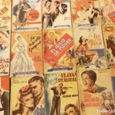 Libros de segunda mano: LIBROS COLECCIÓN PARA TI - HYMSA 1944 - 15 NOVELAS ROMÁNTICAS EN MUY BUEN ESTADO - JYA. Lote 156715002