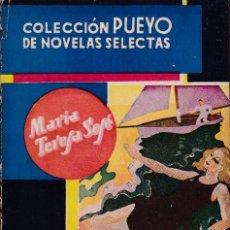 Libros de segunda mano: MARIA TERESA SESÉ - ELENA DE BALLENCOURT - COLECCION PUEYO Nº 49 / 1945. Lote 157257026
