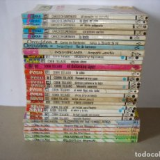 Livres d'occasion: LOTE DE 29 NOVELAS ROMANTICAS VARIADAS: CORIN TELLADO, CARLOS DE SANTANDER - EDIT BRUGUERA (AÑOS 80). Lote 158066246