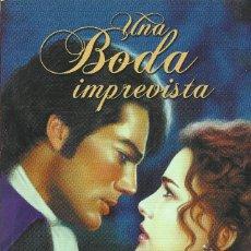Libros de segunda mano: JACQUIE D'ALESSANDRO-UNA BODA IMPREVISTA.ZETA ROMÁNTICA.EDICIONES B.2007.. Lote 160194238