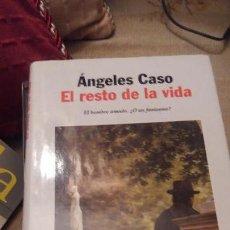 Libros de segunda mano: EL RESTO DE LA VIDA - EDICION TAPA DURA. Lote 160417826