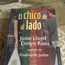 Libros de segunda mano: EL CHICO DE AL LADO. Lote 160644373