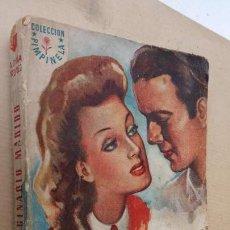 Libros de segunda mano: COLECCIÓN PIMPINELA Nº 1 - JUNIO 1946 BRUGUERA 1ª EDICIÓN - AMELIA PINA VÁZQUEZ ,196 PGS, PUBLICIDA. Lote 164818054