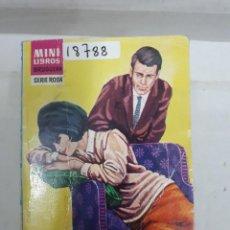 Libros de segunda mano: 18788 - MINI LIBROS BRUGUERA - CORIN TELLADO - SERIE ROSA - OLVIDALO - Nº 608. Lote 165351866