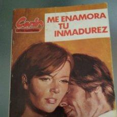 Libros de segunda mano: CORIN N 67 ME ENAMORA TU INMADUREZ. CORIN TELLADO. Lote 165819261