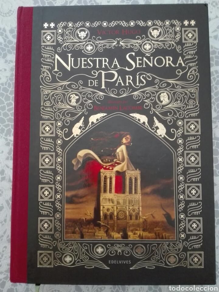 NUESTRA SEÑORA DE PARIS VOL. II. VICTOR HUGO LACOMBE. EDELVIVES (Libros de Segunda Mano (posteriores a 1936) - Literatura - Narrativa - Novela Romántica)