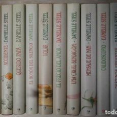 Libros de segunda mano: COLECCIÓN DE 13 NOVELAS ROMÁNTICAS DE LA ESCRITORA DANIELLE STEEL. Lote 262977730