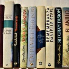 Libros de segunda mano: LOTE DE 13 NOVELAS ROMÁNTICAS DE LA ESCRITORA DANIELLE STEEL. Lote 168647496