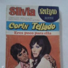 Libros de segunda mano: SILVIA. CORIN TELLADO. Lote 169002080