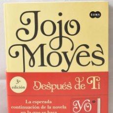Libros de segunda mano: DESPUÉS DE TI. JOJO MOYES. Lote 169212324