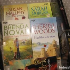 Libros de segunda mano: LOTE NOVELAS ROMANTICAS MODERNAS HARLEQUIN BRENDA NOVAK MAGGIE SHAYNE SARAH MORGAN SUSAN MALLERY.... Lote 170027876