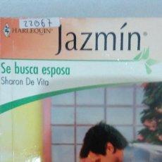 Libros de segunda mano: 22067 - NOVELA ROMANTICA - JAZMIN - HARLEQUIN - SE BUSCA ESPOSA - Nº 1973. Lote 170157184