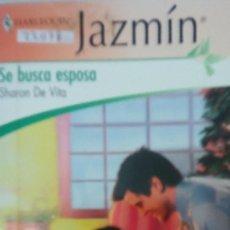 Libros de segunda mano: 22078 - NOVELA ROMANTICA - JAZMIN - HARLEQUIN - SE BUSCA ESPOSA - Nº 1973. Lote 170157988