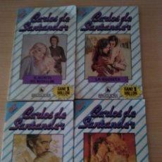 Libros de segunda mano: LOTE 4 NOVELAS ROMÁNTICAS CARLOS DE SANTANDER. Lote 167705680