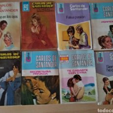 Libros de segunda mano: LOTE 8 NOVELAS CAROLA. CARLOS DE SANTANDER. Lote 167706546
