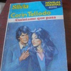 Libros de segunda mano: CORIN TELLADO - CUENTAME QUE PASA - BRUGUERA SILVIA 177 - ABRIL 1978. Lote 170958937