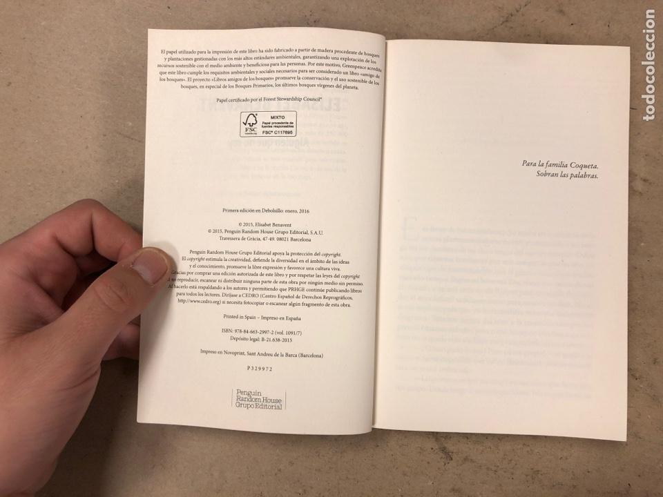 Libros de segunda mano: LOTE DE 9 NOVELAS DE ELÍSABET BENAVENT. COMO NUEVAS. TÍTULOS EN DESCRIPCIÓN. - Foto 37 - 171021490