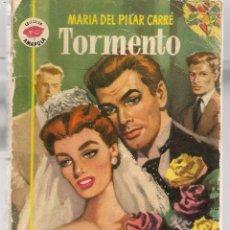 Libros de segunda mano: AMAPOLA. Nº 80. TORMENTO. MARÍA DEL PILAR CARRÉ. BRUGUERA. (P/D38). Lote 171414558