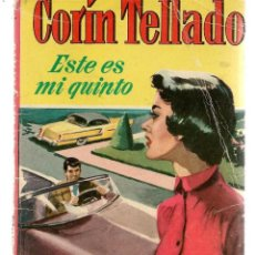 Libros de segunda mano: CORAL. Nº 31. ESTE ES MI QUINTO. CORÍN TELLADO. FOTO: KIM HUNTER. BRUGUERA. (P/D38). Lote 171416308