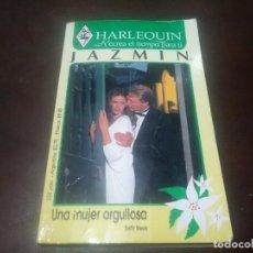Libros de segunda mano: LIBRO NOVELA HARLEQUIN JAZMIN N° 29 UNA MUJER ORGULLOSA. Lote 171519078