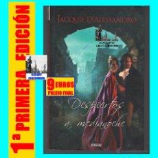 Libros de segunda mano: DESPIERTOS A MEDIANOCHE - JACQUIE D´ ALESSANDRO - VERGARA - COLECCIÓN AMOR Y AVENTURA - BUEN ESTADO. Lote 171605124