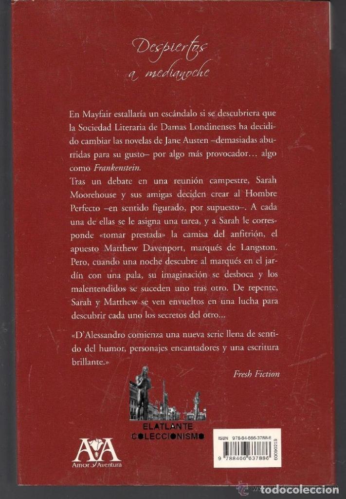 Libros de segunda mano: DESPIERTOS A MEDIANOCHE - JACQUIE D´ ALESSANDRO - VERGARA - COLECCIÓN AMOR Y AVENTURA - BUEN ESTADO - Foto 4 - 171605124
