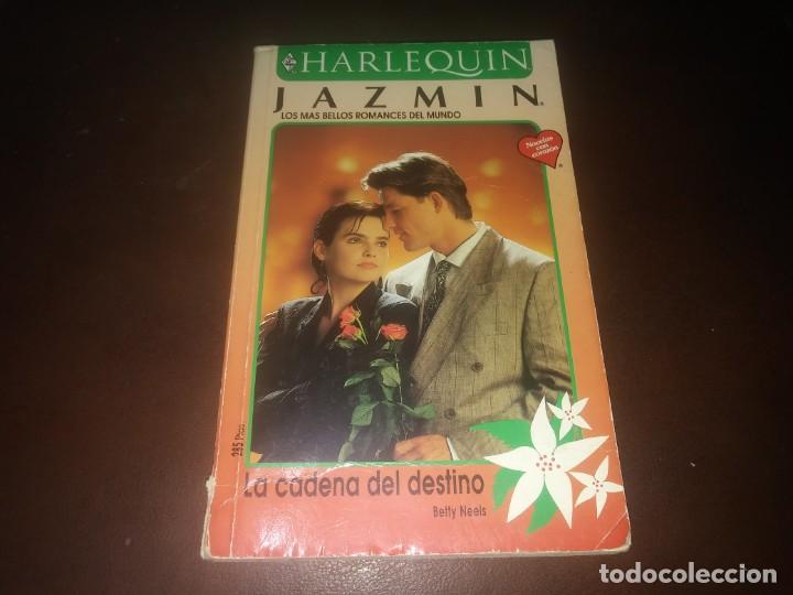 LIBRO NOVELA HARLEQUIN JAZMIN N° 1016 LA CADENA DEL DESTINO (Libros de Segunda Mano (posteriores a 1936) - Literatura - Narrativa - Novela Romántica)