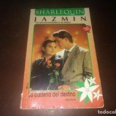 Libros de segunda mano: LIBRO NOVELA HARLEQUIN JAZMIN N° 1016 LA CADENA DEL DESTINO . Lote 171638052