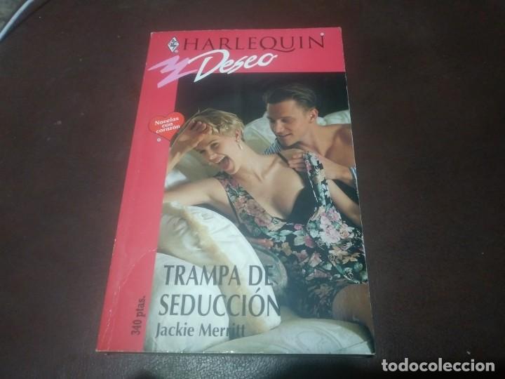 LIBRO NOVELA HARLEQUIN DESEO N° 681 TRAPA DE SEDUCCIÓN (Libros de Segunda Mano (posteriores a 1936) - Literatura - Narrativa - Novela Romántica)