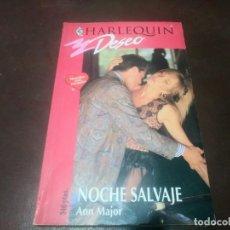 Libros de segunda mano: LIBRO NOVELA HARLEQUIN DESEO N° 680 NOCHE SALVAJE ANN MAJOR . Lote 171656938