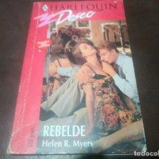 Libros de segunda mano: LIBRO NOVELA HARLEQUIN DESEO N° 571 REBELDE . Lote 171659080
