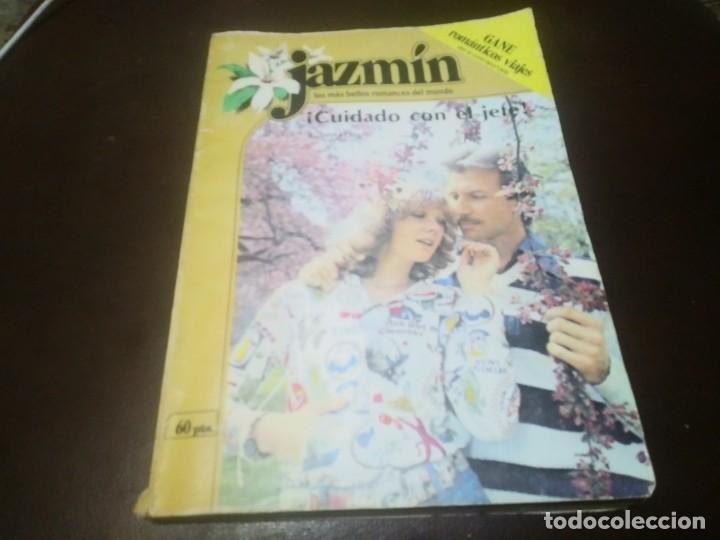 LIBRO NOVELA JAZMIN N° 24 CUIDADO CON EL JEFE (Libros de Segunda Mano (posteriores a 1936) - Literatura - Narrativa - Novela Romántica)
