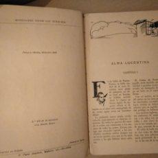 Libros de segunda mano: ALMA LUCENTINA. JULIO MARIO. JUVENTUD 1936. Lote 172148513