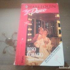 Libros de segunda mano: LIBRO NOVELA HARLEQUIN DESEO N° 583 BESO ROBADO NAOMI HORTON. Lote 172165809