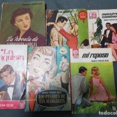 Libros de segunda mano: LOTE DE 6 NOVELAS ESTADO NORMAL MAS ARTICULOS . Lote 172253144