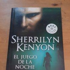 Libros de segunda mano: EL JUEGO DE LA NOCHE - SHERRILYN KENYON - 2009. Lote 172287927