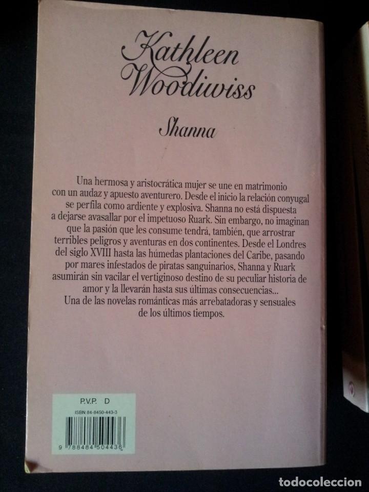 Libros de segunda mano: KATHLEEN WOODIWISS - LOTE DE 9 LIBROS - COLECCION CISNE - Foto 10 - 172732007